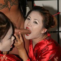 Asian Sluts Annie Cruz And Kylie Rey Get Fucked By Tattood Joe Friday In This Photo Set