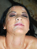 Deena Daniels Gets Bukkake Facialized In This Hardcore Blow Bang Photo Set