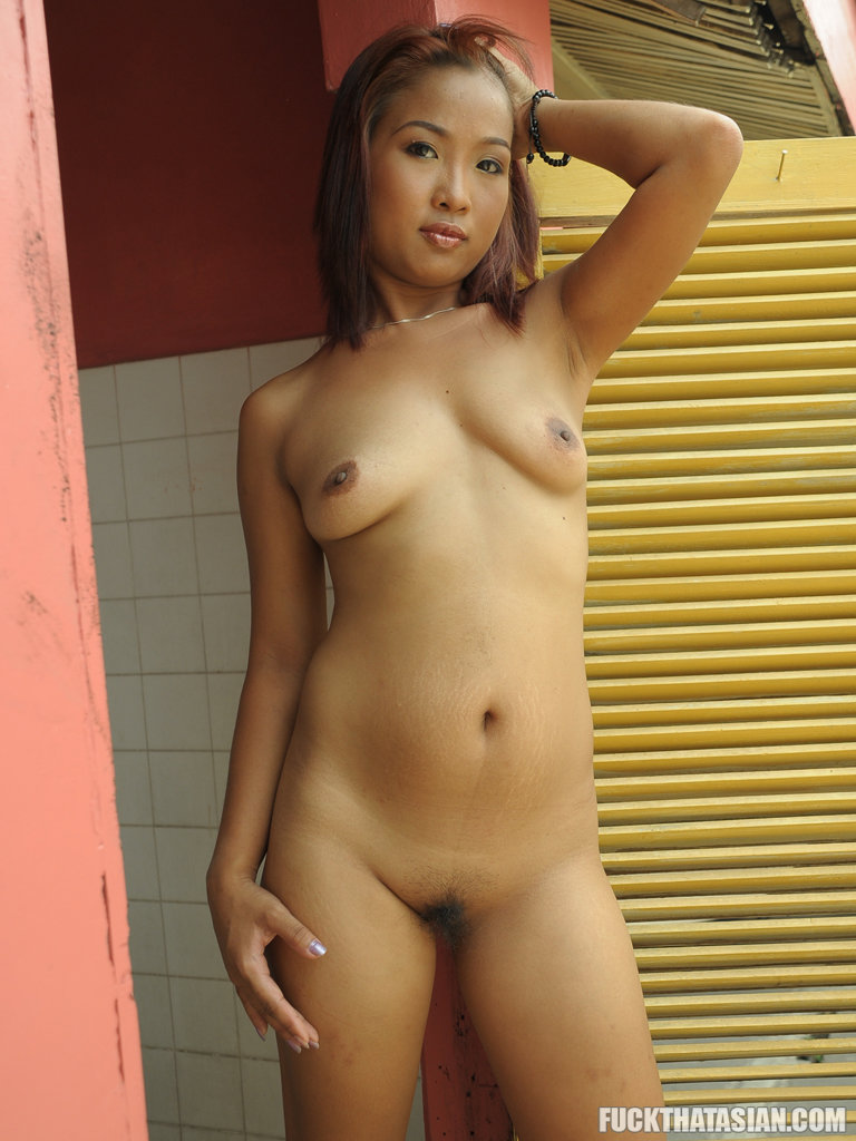 Asian playing pussy you
