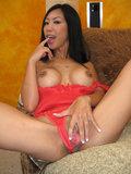 Big titty Asian slut named Tia Ling gets fucked hard