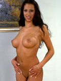 Latin babe Black Diamond gets fucked after sucking cock