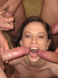 Andrea Anderson Covered In Cum By Multiple Guys In This Nasty Photo Set