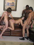 Nika Kay facialized by multiple guys after getting hardcore blow banged in this photo set