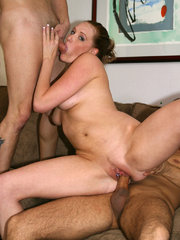 mom nude self shot