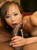 Asian Mia Smiles Gets Fucked By Big Black Meat Bone In This Hardcore Photo Set