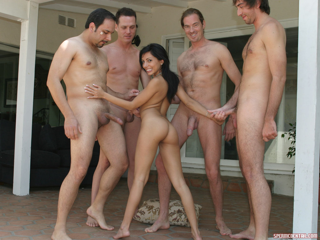 foursome huge dick