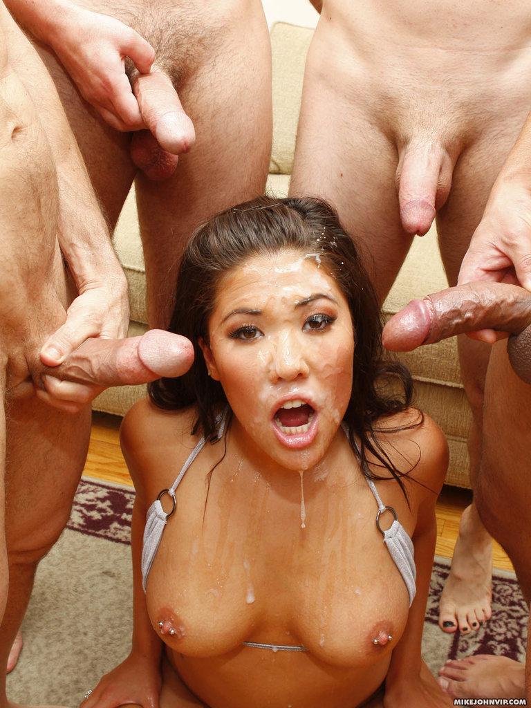 Порно толпой азиаток фото 365-230