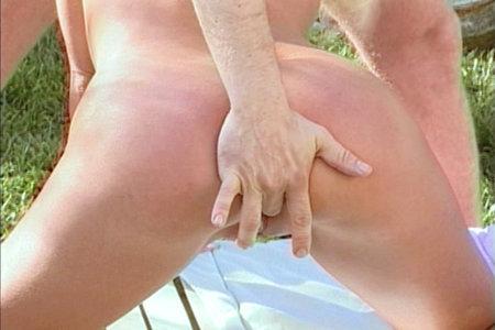 Dick handling blonde pornstar Mina doing Peter North