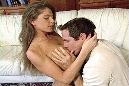Big boobed coed getting fucked by pornstar Peter North from Club Peter North