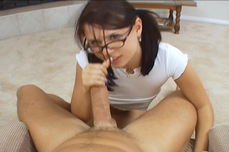 Eva Angelina sucks Peter North from Peters Cum Shot