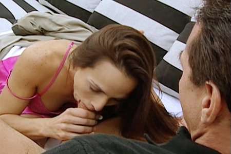 Classy pornstar Tina Thomas getting fucked by Peter North