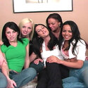 Five horny lesbians