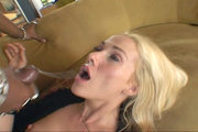 Dirty Ava Vincent rides big black penis with pleasure from Lex Steele