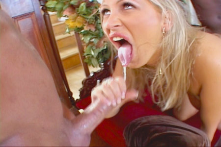 Blonde bitch fucking with two guys in this hardcore 3some from Lex Steele