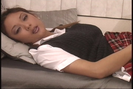 Raunchy Asian schoolgirl Kimmy giving head and screwing from Fuck That Asian