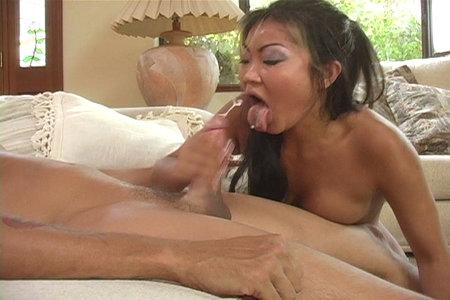 Slutty Asian pornstar Lucy Lee having hardcore sex on camera