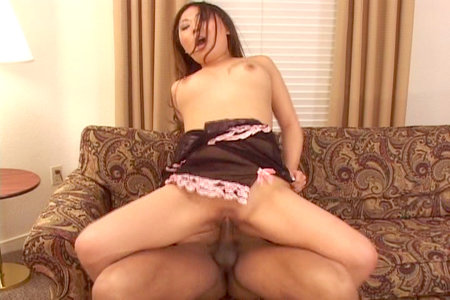 Curvy asian pornstar babe Mila Yung having hot hardcore sex from Fuck That Asian