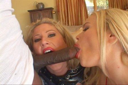 Lexington Steele got sucked deep and hard by hungry bimbo from Lex Steele