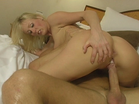 Internal dick cumshot inside blond Sharon Wild