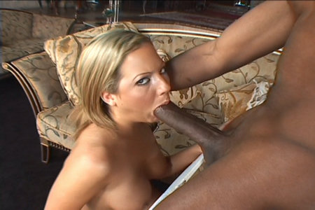 Hardcore interracial gangbang vids with a cum-loving blonde