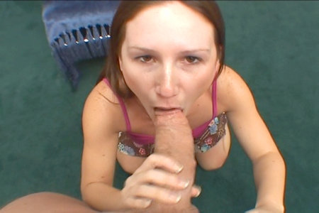 Four hot blowjob and footjob movies with naughty Gen Padova from Load My Mouth