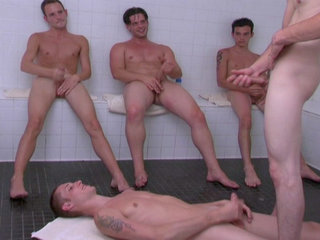 Gay Twinks Sex : homo group sex action with hot young gay boys having hard-core porn!
