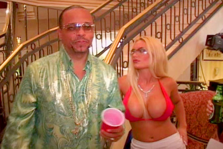 Ice-T pimpin video collection with hot young blonde babes from Hardcore Gangstas