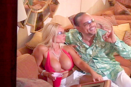 Awesome busty blonde and Ice-T from Hardcore Gangstas