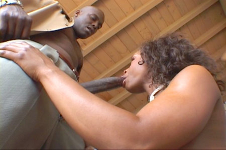 Lexington Steele got nympho on dick from Black Reign X