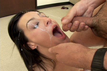 Pretty Presley Maddox giving some head to the lucky boys from Cover My Face