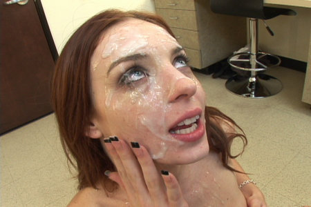 Gorgeous Riley Shy makes friends with every large dick from Cover My Face