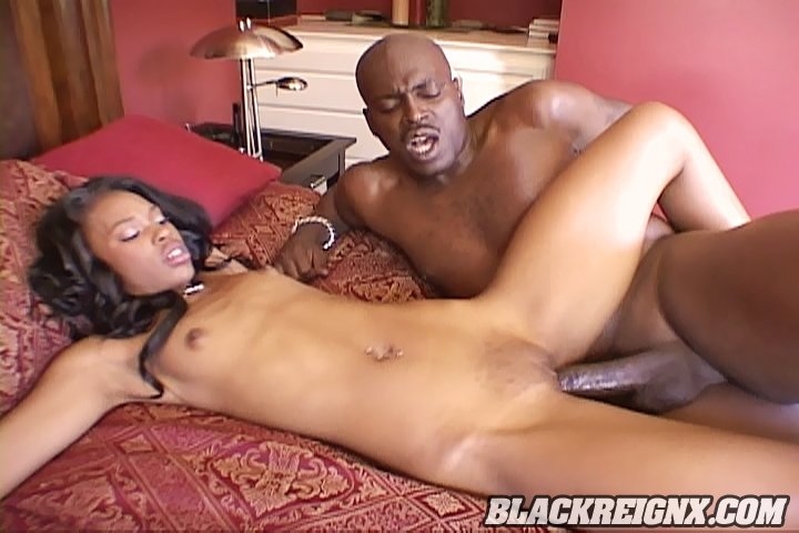 Wild hardcore sex with Lexington Steele from Black Reign X