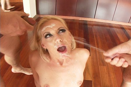 Kacey Villainess enjoys her facials and eats sweet juice