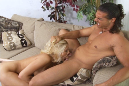 Naughty blonde Staci Thorn sucks a cock and fucks anally from Pornstars Analyzed