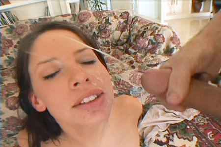 Haley Paige massages stiff penises with her fat lips from Cover My Face