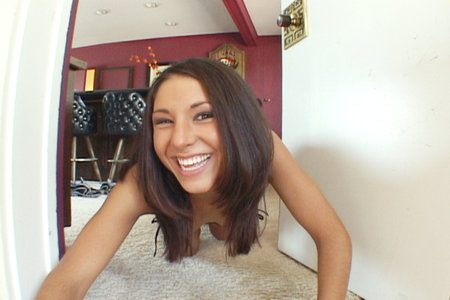 Horny Isabella likes to serve guys on her knees from Cover My Face