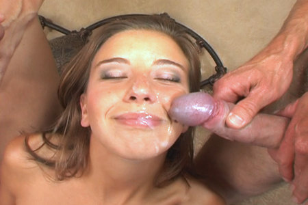 Kelly Kline fucked by two dudes