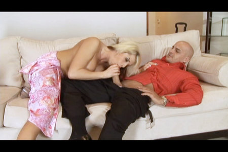 Crazy hardcore blond slut fucks like a true whore from Hostile Fucking