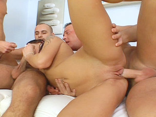 Groupsex : Hot back cheater in this very hardcore gang bang action series!