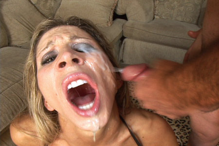 Morgan Ray blows a bunch of horny cocks