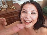 Valerie Herrera facialized