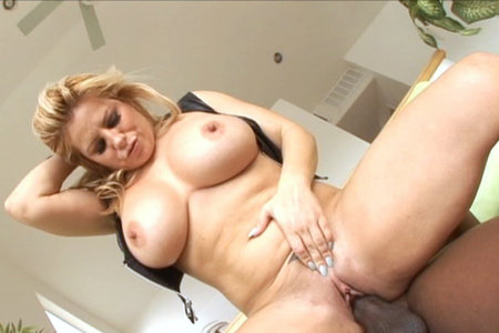 Hot interracial action with busty blond in this nice vid from Lex Steele