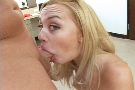 Nice swallowing action with Annette in this swallowing series from Load My Mouth