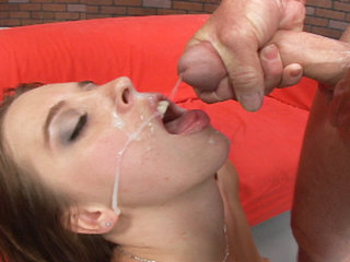 Facial Cumshot : Met this chick downtown and she wanted gang bang!