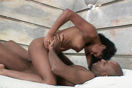 Thais Latina pussy gets smashed deep by a big black cock rod
