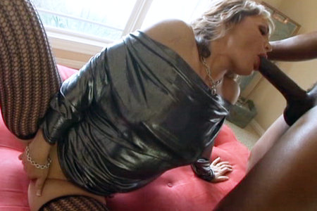 MILF Kelli Leigh pussy pounded by Lex Steeles huge black fuck stick from Lex Steele
