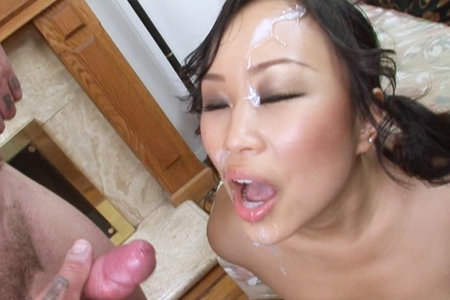 Asian slut Bella Ling gets her snatch rammed with hard cock from Fuck That Asian