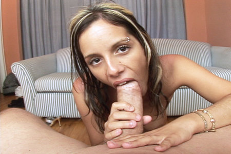 French Babe Pamela Sucks On a Giant Man Sausage from Load My Mouth