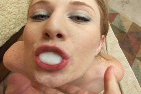Lucy Fire sucks thick dick from Load My Mouth