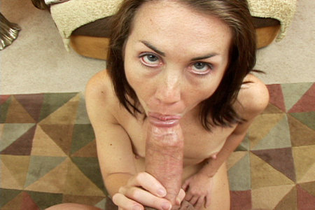 Maggie Matthews sucks before swallowing from Load My Mouth